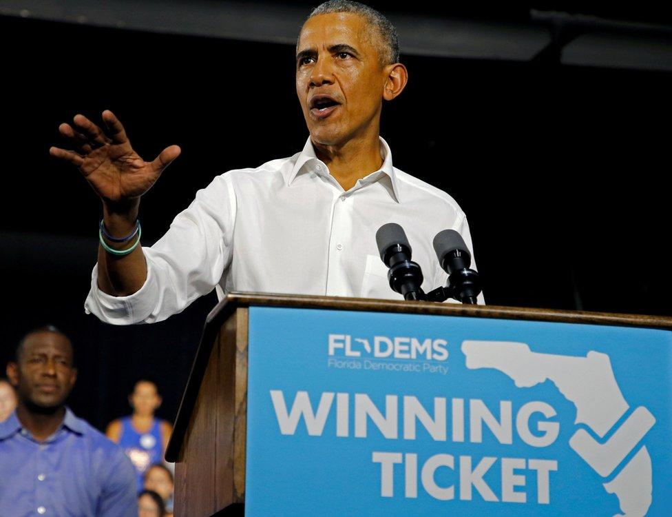 Barack Obama in Miami, Florida - 4 November