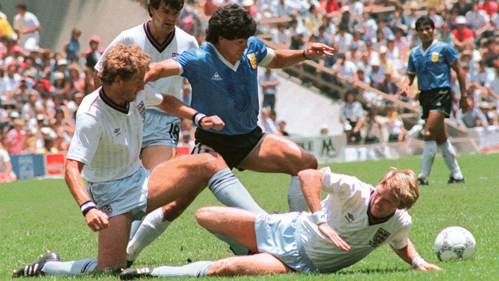 Gol de Maradona contra Inglaterra