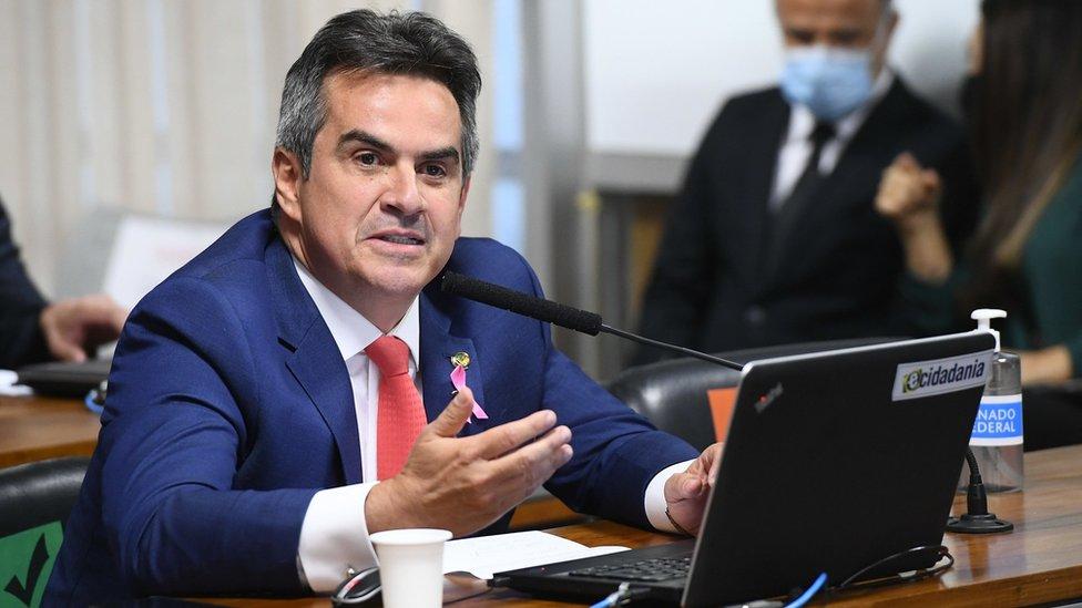 Senador Ciro Nogueira em pronunciamento na Casa