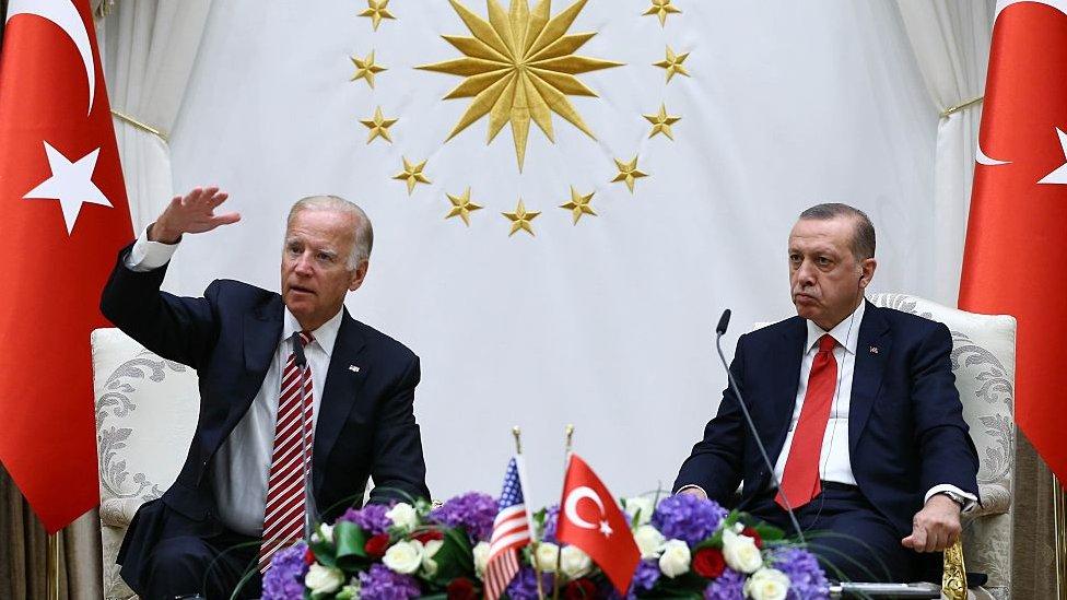 Biden ve Erdoğan