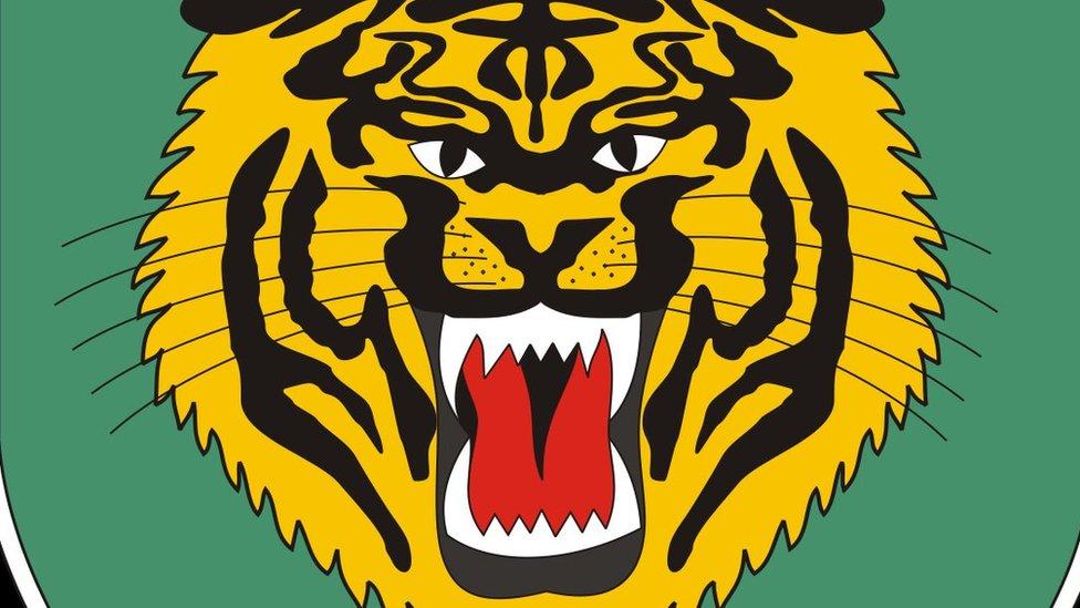 Tiger logo of Siliwangi Military Command