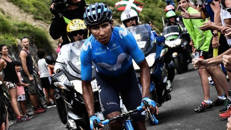Quintana ganó la etapa reina del Tour pero no pudo evitar que el equipo Sky volviera a ganar en la general.