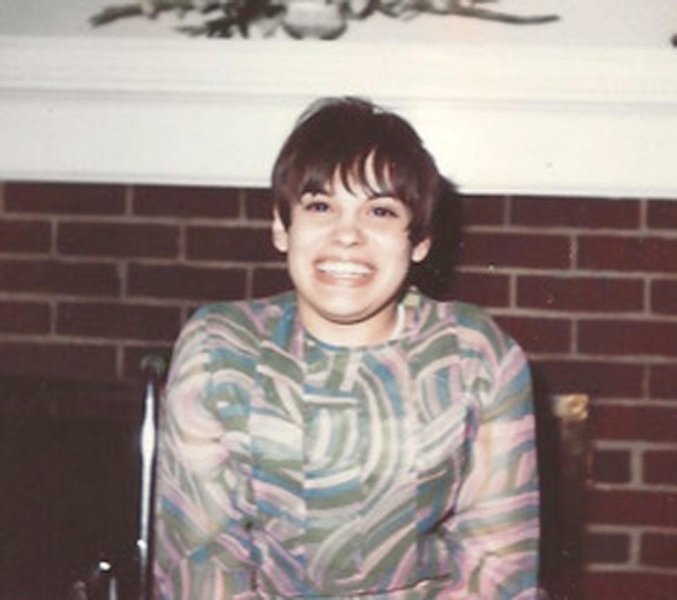 Judy in her teens
