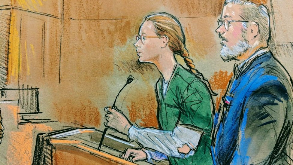 Sketch from court hearing