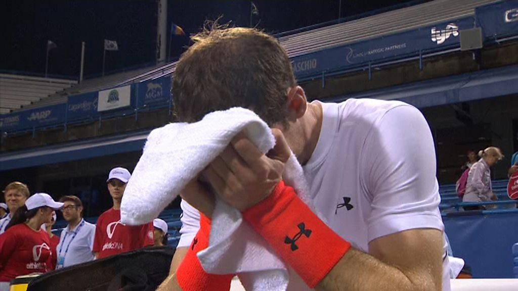 Andy Murray breaks down in tears after Washington Open win