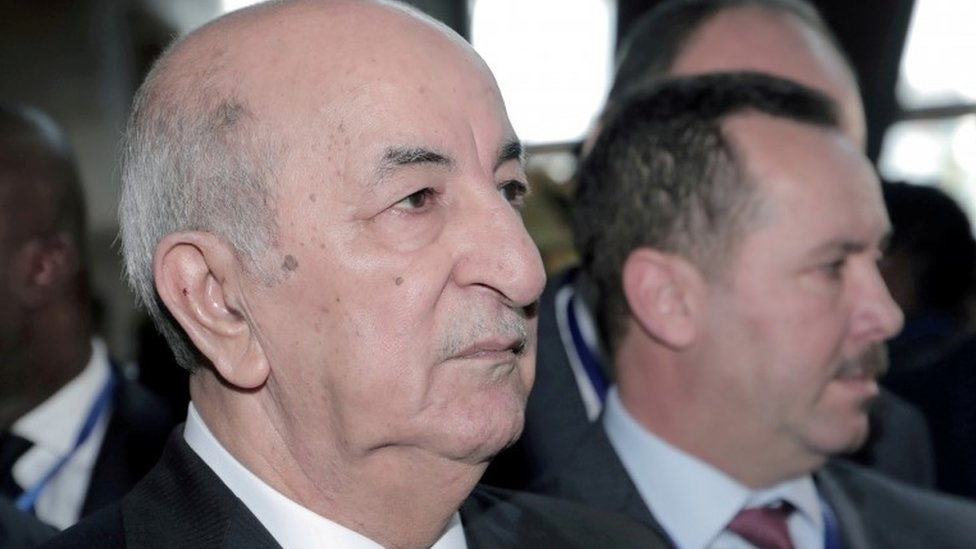 Algerian President Tebboune returns after Covid treatment in Germany thumbnail