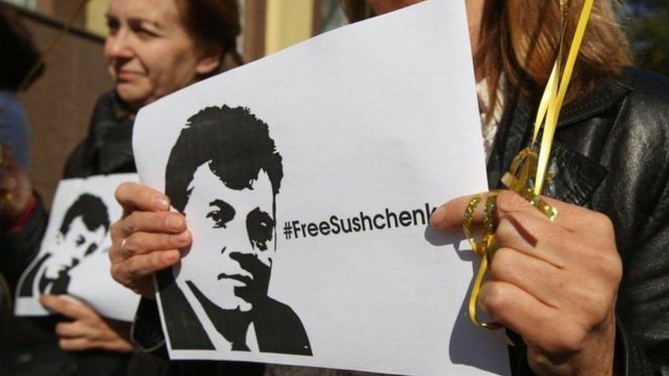В России украинского журналиста Сущенко этапировали в колонию