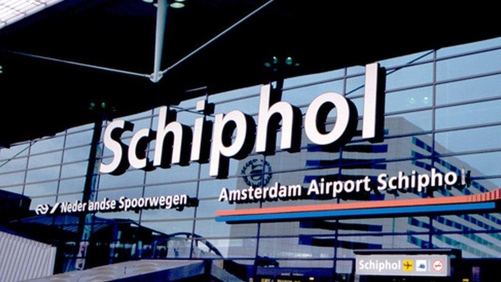 Amsterdam airport, file photo
