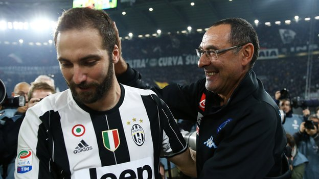 Gonzalo Higuain: Why Maurizio Sarri has faith in maligned striker