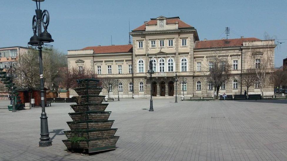 Smederevo centar grada