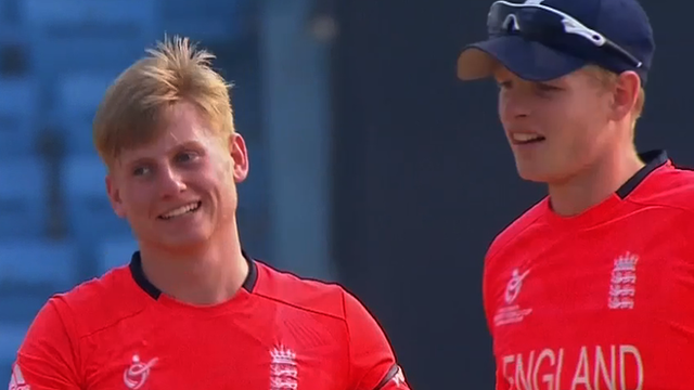 England U-19s beat Zimbabwe in World Cup