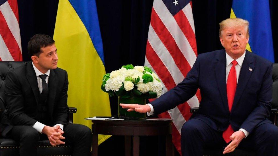 Zelenski y Trump
