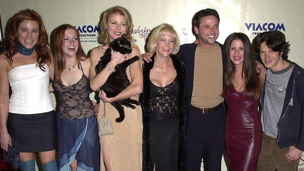 Sabrina the Teenage Witch cast members