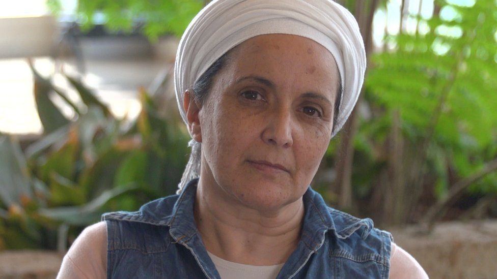 Rachel Dadon's daughter Eden suffered 45% burns when a Palestinian set off a bomb on a bus