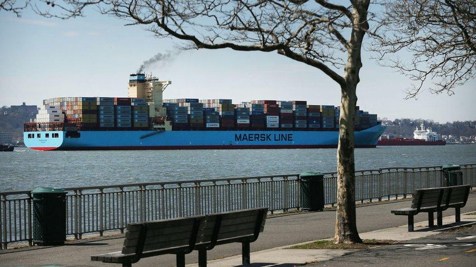 Maersk es la naviera de carga más grande del mundo.