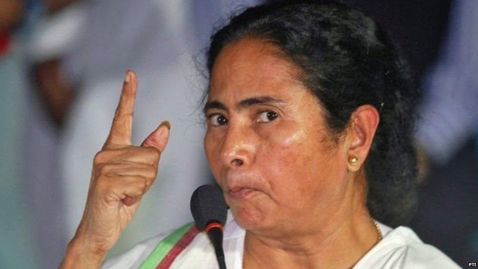 आम चुनावों से पहले ममता बनर्जी की 'मोदी विरोधी रैली'