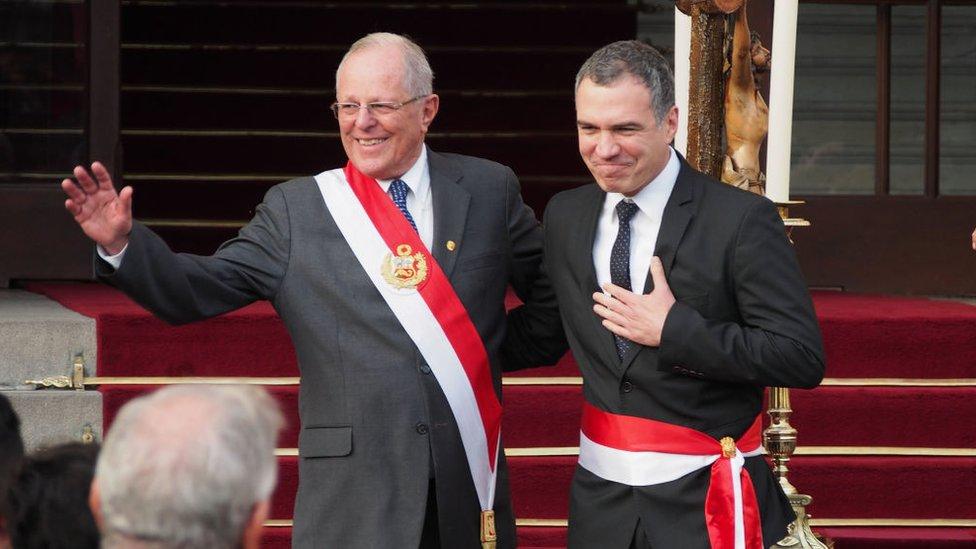 Pedro Pablo Kuczynski y Salvador del Solar