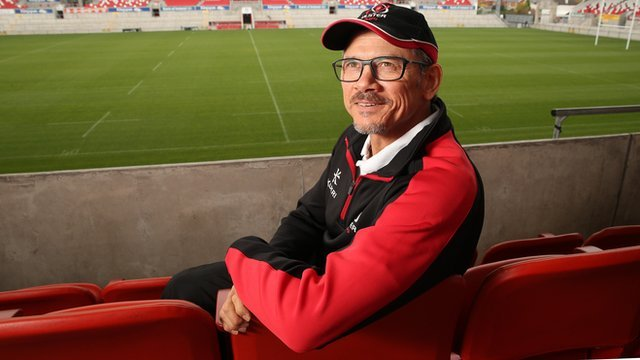 Director of Ulster Rugby Les Kiss