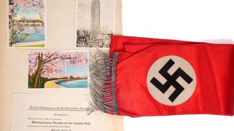 Nazi memorabilia items