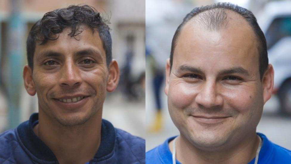Bogotanos que llamaron a Calma