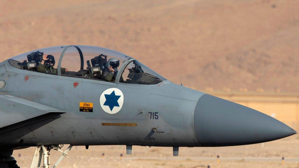 طائرة أف 15 إسرائيلية