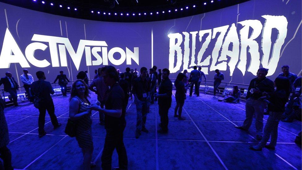 動視暴雪(Activision Blizzard)公司展