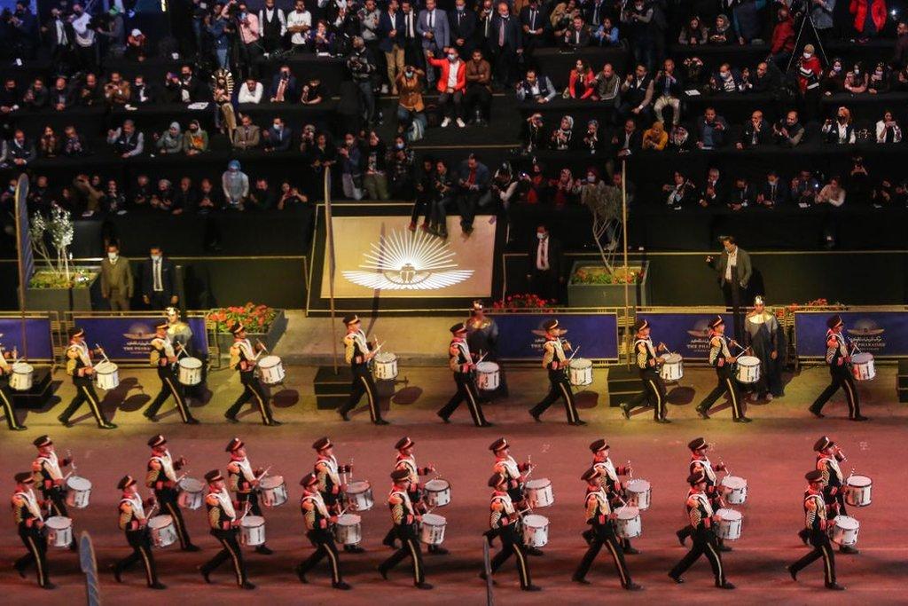 El desfile de momias y gobernantes de Egipto por El Cairo