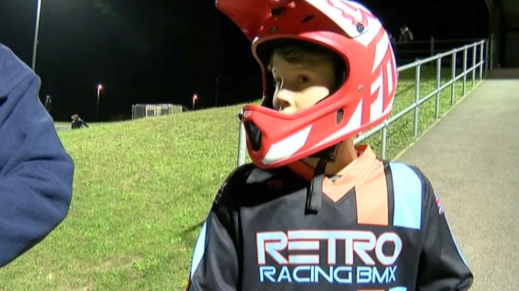 Kent boy, 11, reaches BMX world championships