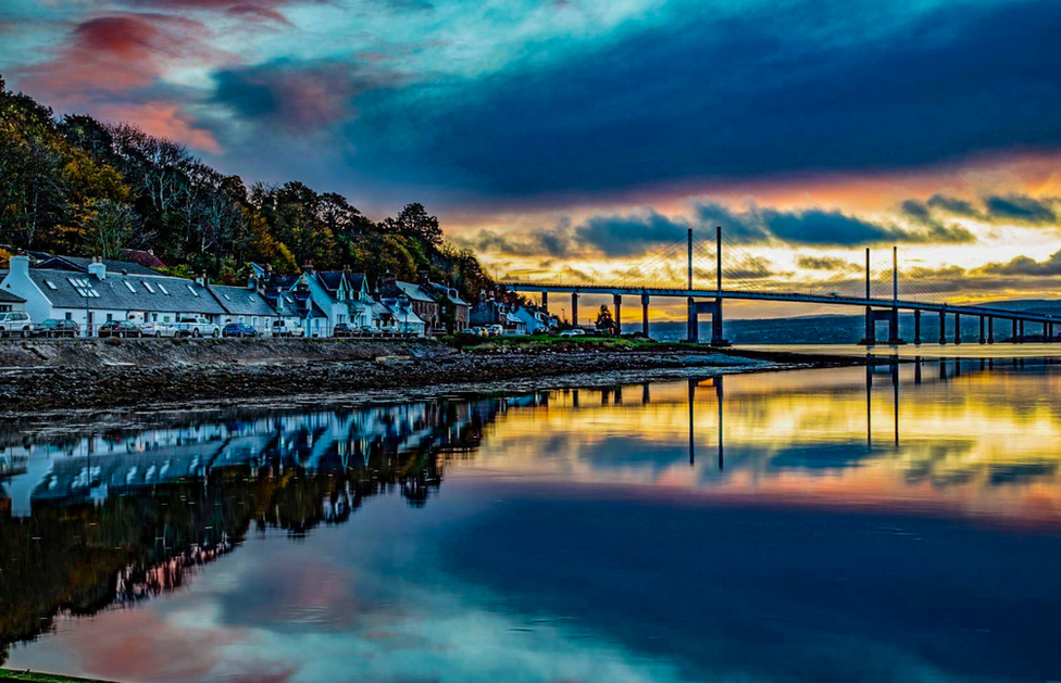 Gordon Bain from Inverness captured these reflections at North Kessock, just before sunrise on a beautiful still morning.