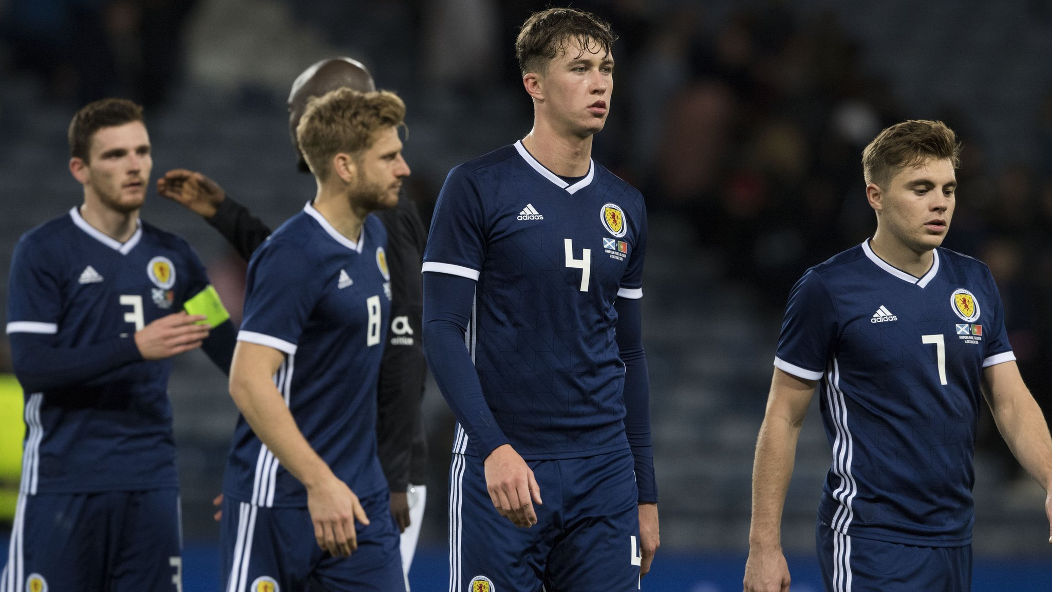 Euro 2020 qualifiers the 'bigger picture' for Scotland