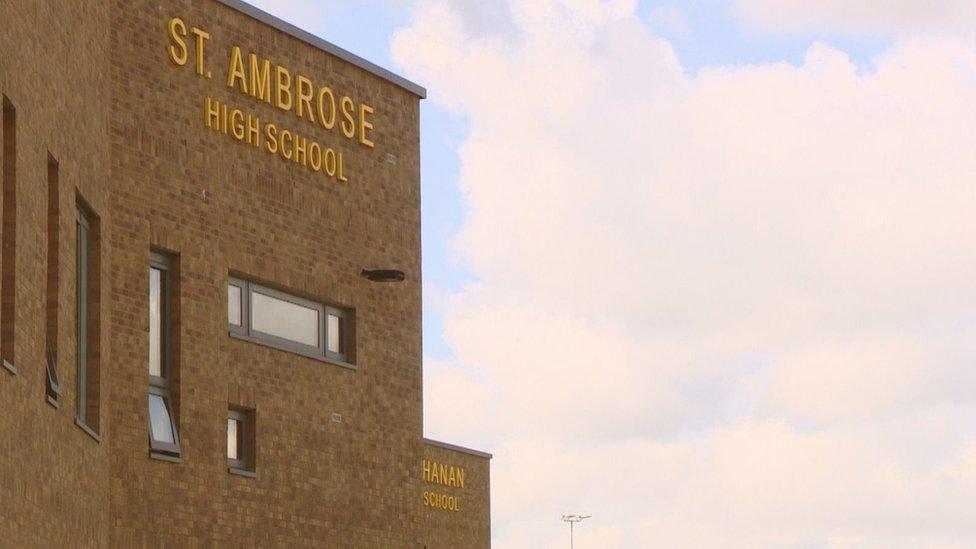 St Ambrose and Buchanan High schools