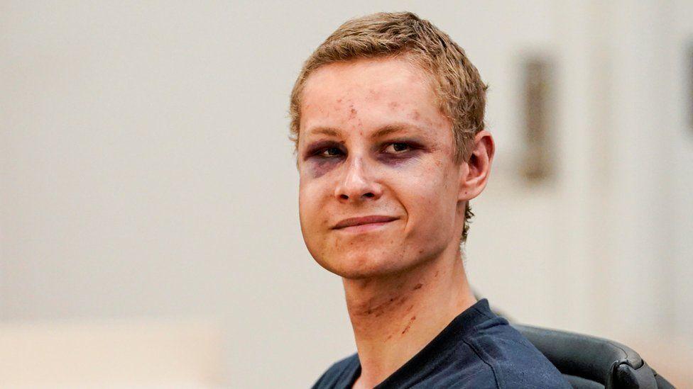 Philip Manshaus, Norwegia, serangan masjid