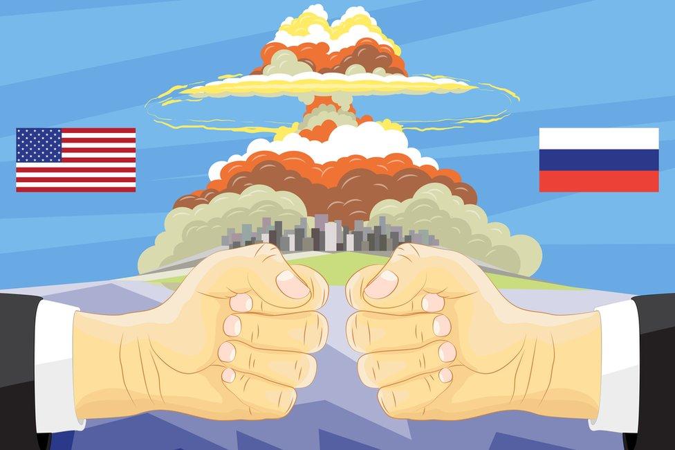 EE.UU. y Rusia concentran casi el 92% de armamento nuclear que existe en el mundo, según el SIPRI.
