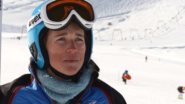British alpine skier Alex Tilley