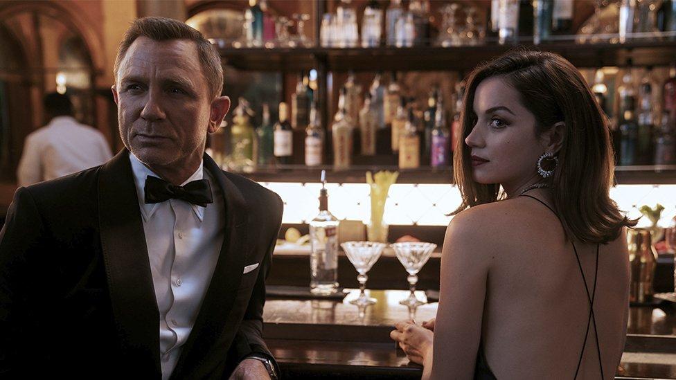 A still from James Bond