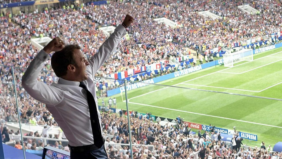 World Cup 2018 French Social Media S Reaction To Being World Champions Bbc News