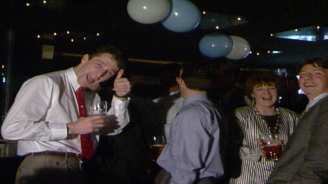 Hartlepool Utd's 1989 Christmas party