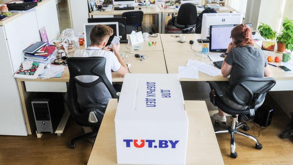 Белорусский Tut.by лишили аккредитации. Как теперь будет работать сайт?
