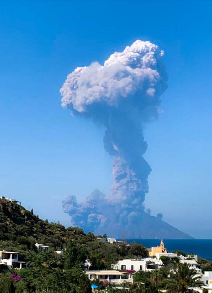 Volcán.