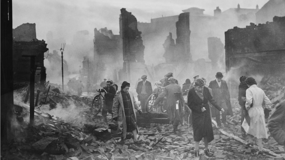 Coventry Blitz aftermath