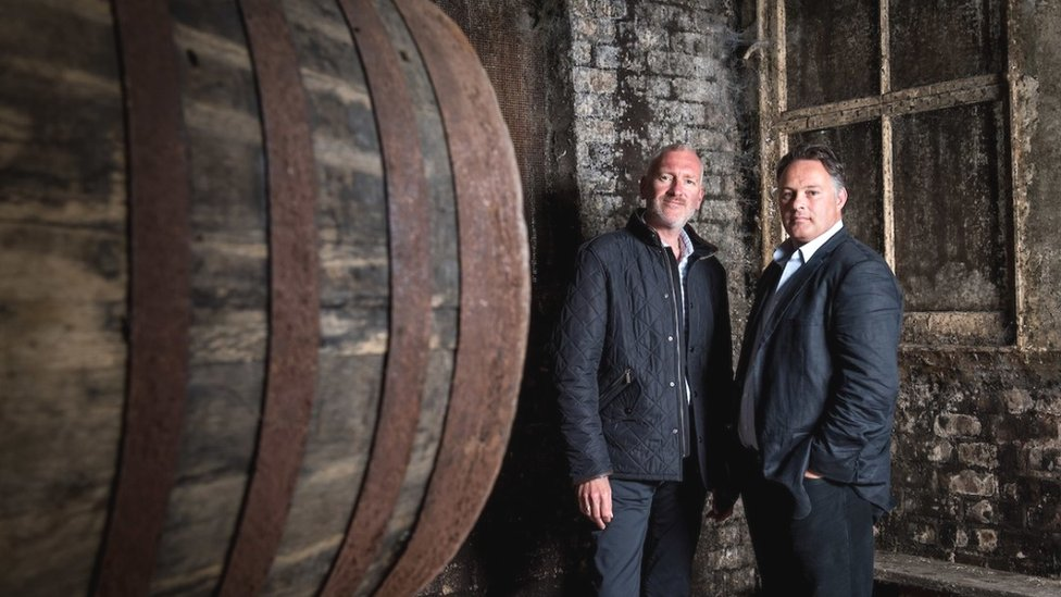 RW101 co-founders Andy Simpson (left) and David Robertson