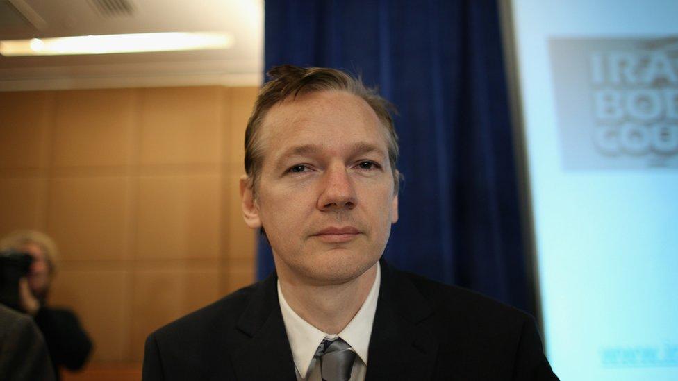 Julian Assange in 2010