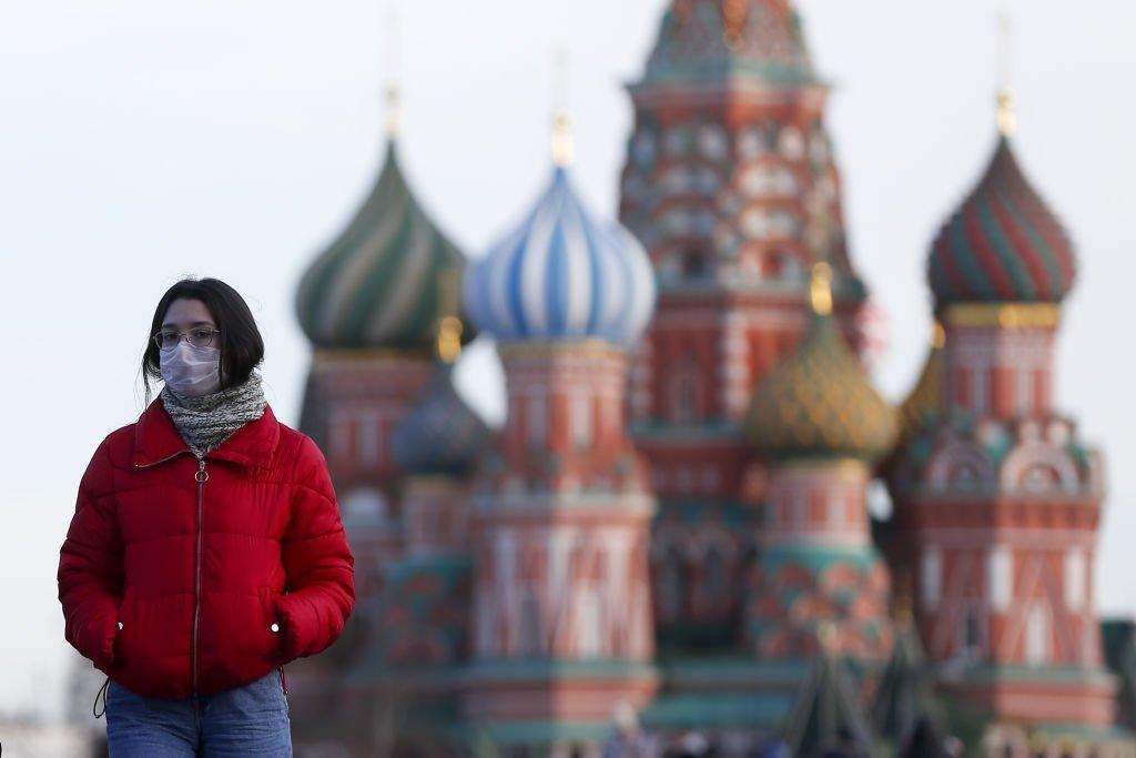 俄羅斯的疫情快速惡化,確診人數已經突破了一萬人。