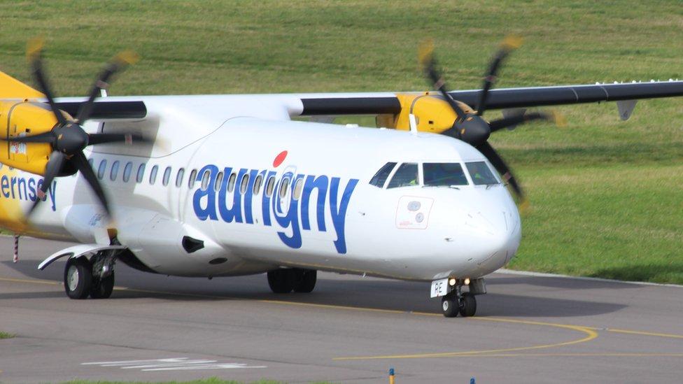 Aurigny plane