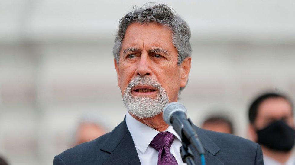 Presidente de Perú, Francisco Sagasti