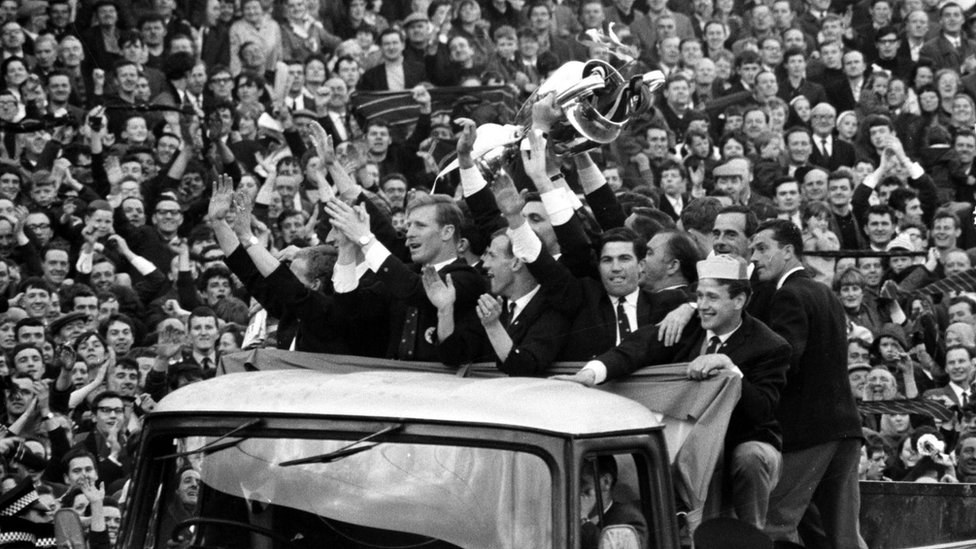 Lisbon Lions with European Cup