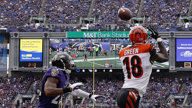 AJ Green, Adrian Peterson feature in top plays from week three