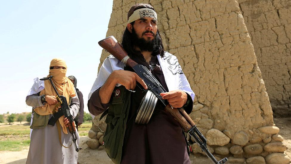 مقاتلو طالبان في عام 2018.