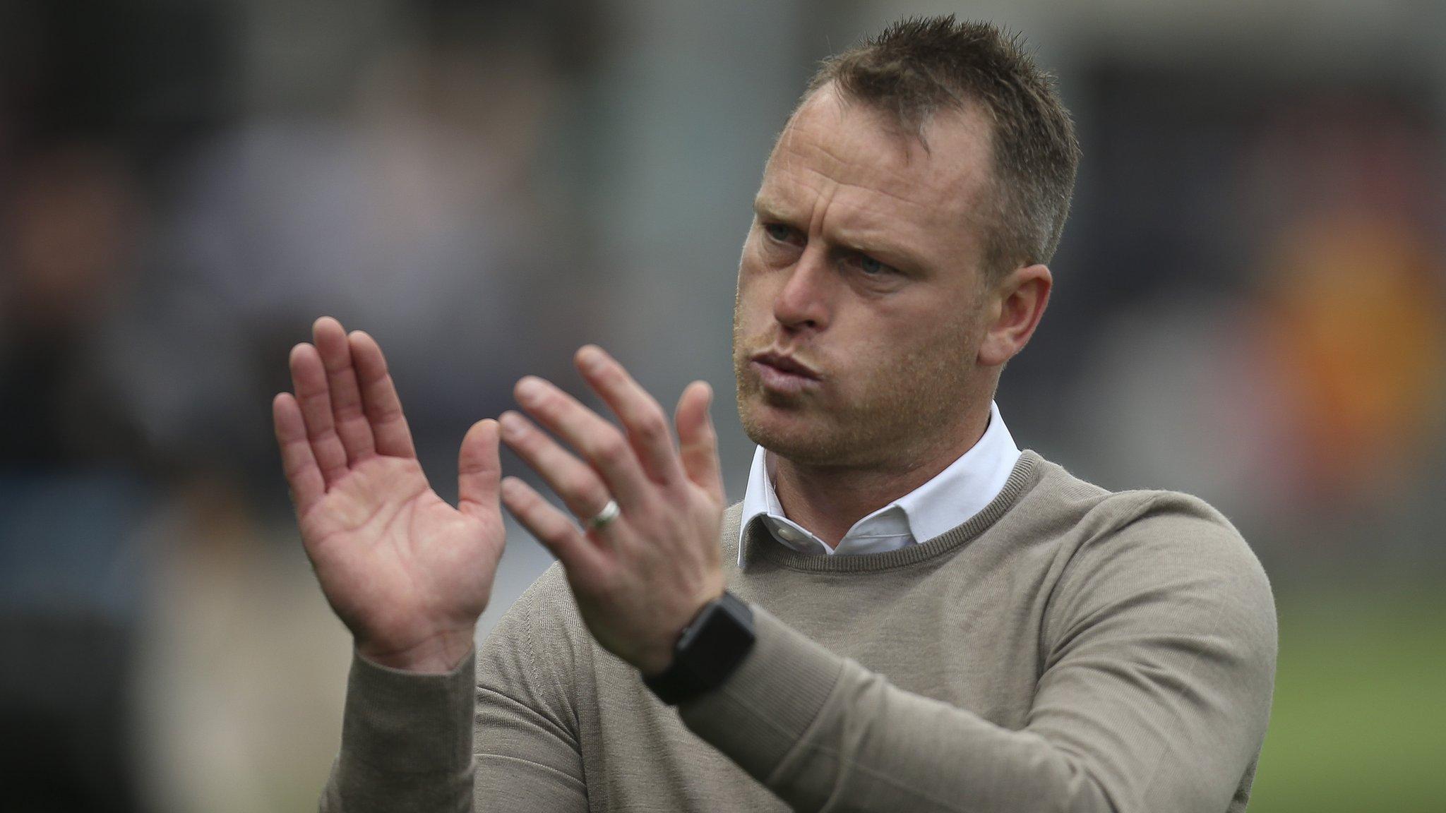 Mike Flynn: Newport boss says no approach from managerless Shrewsbury