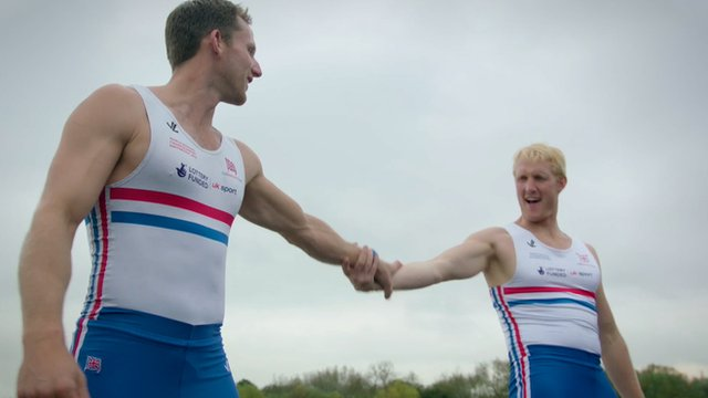 GB rowers do Strictly Come Dancing-inspired routine